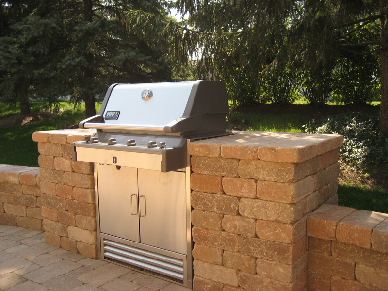 Grill Enclosures Builders Construction Chicago Des