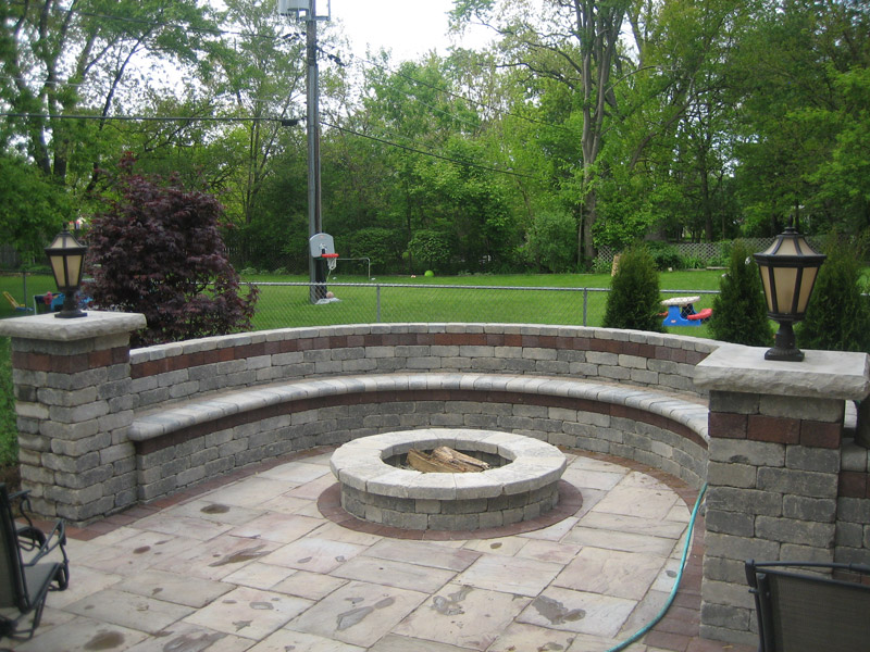 Fire Pits / Fire Places | Builders Construction Chicago ...