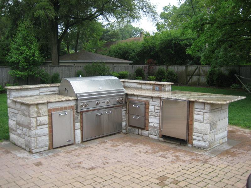 Grill Enclosures Builders Construction Chicago Des